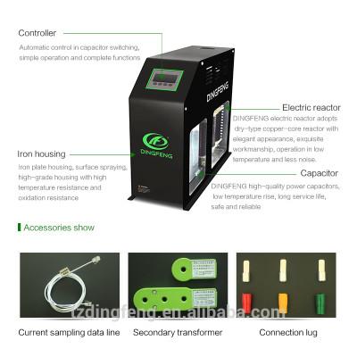 Reducir swithcing condensador inteligente operación de sobrecarga de tensión de corriente de irrupción