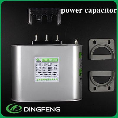 Condensador en paralelo de alto voltaje 400 v 10 kvar condensador electrolítico de 3 fases