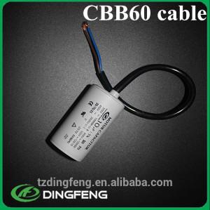 CBB60 SH 50/60 HZ 20mf-100uf 250 v ac motor run capacitor