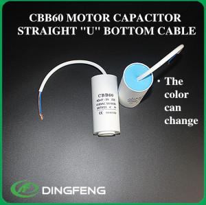 Cbb60 condensador polyester film capacitor 8 uf mkp condensador