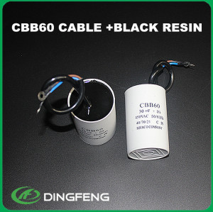 Dimensionamiento motor run capacitor condensador electrolítico 450 v 220 uf 300vac cbb60 condensador del motor