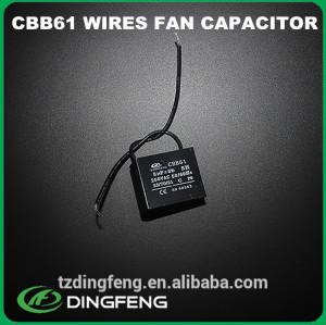 Condensador para generadores precio condensador cbb61 condensador del ventilador 450 v