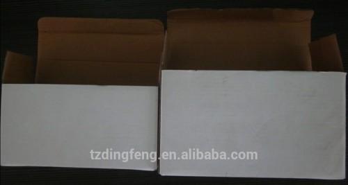 Carcasa de plástico redondo de fondo plano capaitor terminales fije 20 uf