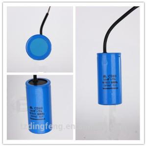 Azul pp tubo 400 v condensador electrolítico de aluminio 300 uf
