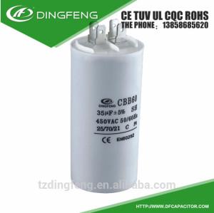 Conveniente para la bomba de agua micro cleanng máquina running capacitor cbb60