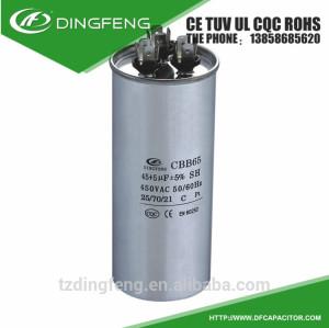 Párrafo del condensador ventilador de techo antomatic llenar cera 50 5 uf
