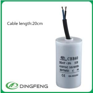16 uf 450vac condensador feedthrough x2 condensador 275 v