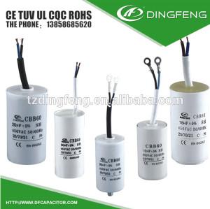 Condensador 20 uf 450 v 225 fábrica bomba de vacio