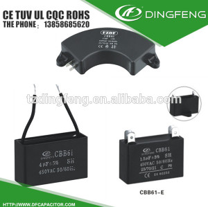 cbb61 1.5 uf 2 wire ceiling table fan capacitor