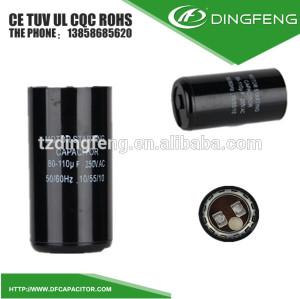 4 pines con cáscara baquelita electrolito condensador cd294
