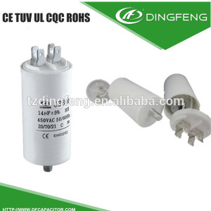 Tipo tornillo 250vac condensador cbb60 80 uf condensador