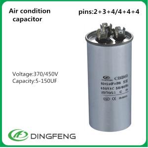 Condensador cbb65 condensador de aire acondicionado que hace la máquina