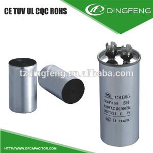 Condensador 45 condensador monofásico 2hp motor electrico