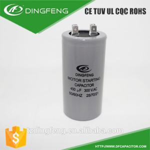Carcasa de aluminio y de plástico gris y te negro condensador condensador para de cd60a gastos de ac motorreductor
