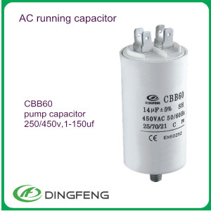 Air conditioner capacitor costo 50/60 hz condensador electrolítico