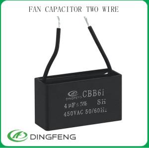 Cbb61 8 uf 450 v condensador y el condensador cbb60 250vac 50/60 hz 25/70/21