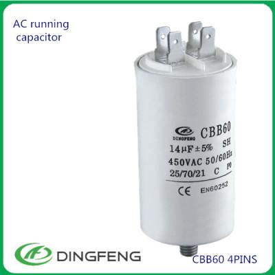 1 uf 500 v condensador de película condensador de alta calidad
