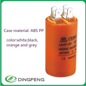 Cbb60 25 uf 250 v condensador de película condensador 474 k 400 v