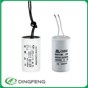 Motor running capacitor 30 uf 400 v y 350vac condensador cbb60 2 hilos