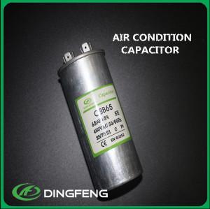 Condensador cbb65 60 uf 250 v condensador x2 refrigeración repuestos