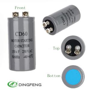 Poliester condensador condensador condensador de película 450 v 120 uf