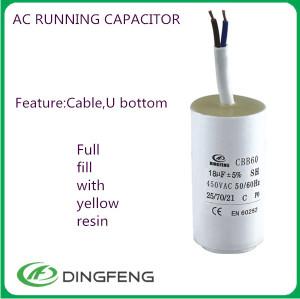 Casa do condensador condensador ac condensador de baja tensión del gce