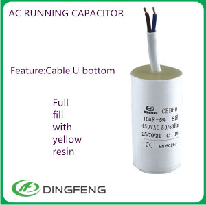 Condensador 0.1 uf cbb60 ac running 1000 microfaradios condensador x2