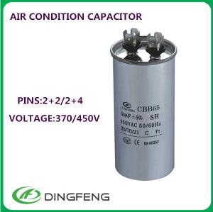 Chip de condensador compresson condensador cbb65 sh condensador