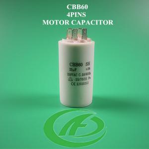 Bomba de agua sin motor condensador cbb60 alambre cp