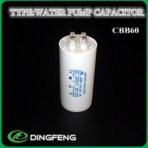 Cbb60 condensador del motor condensador de 250 v 50-60 hz para bomba sumergible