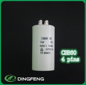 Stype de CBB60 DINGFENG completa MARCA ac condensador 220 v