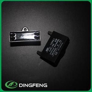 Cbb61 450vac 9 uf condensador negro tamaño pequeño gran potencia