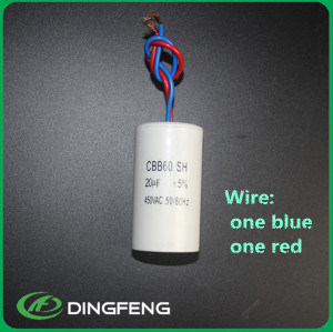 Motor run capacitor CBB60 20 uf 250 v condensador 440vac