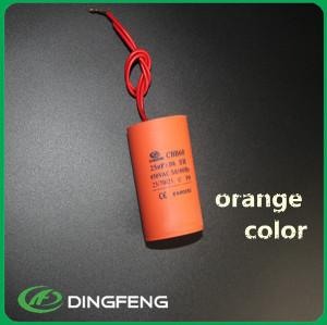 Condensador de poliester 10 uf CBB60 600 v ac condensador de película