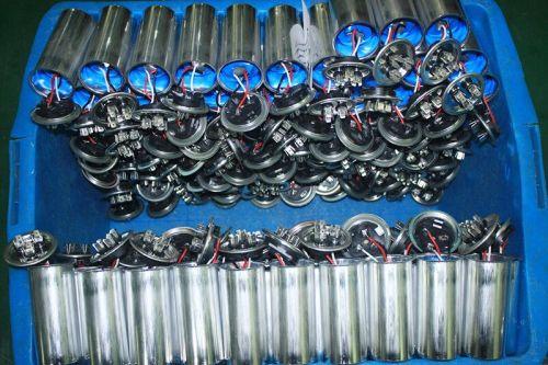 Acondicionado aluminio condensador electrolítico 10 uf 250 v