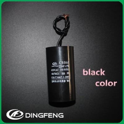 Motor condensador de polaridad condensador CBB60 50 uf 250 v condensador