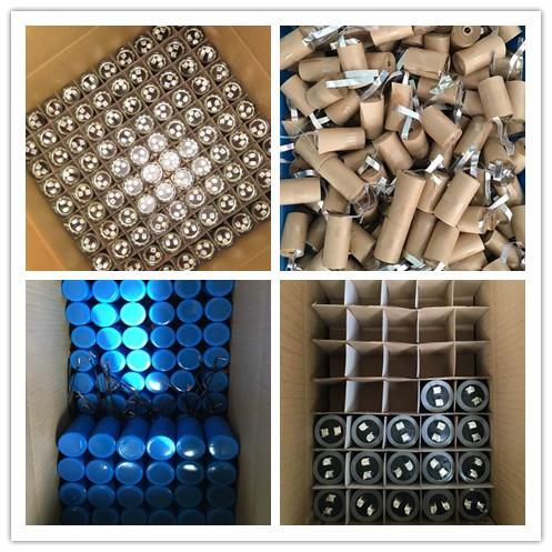 Ac condensador 100 uf 250 v condensador de aluminio maquinaria eléctrica