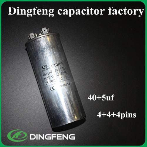 450 V 7.5 UF condensador CBB65 ac precio