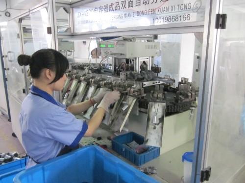 Película de plástico condensador ac motor en marcha 500vac condensador cbb60