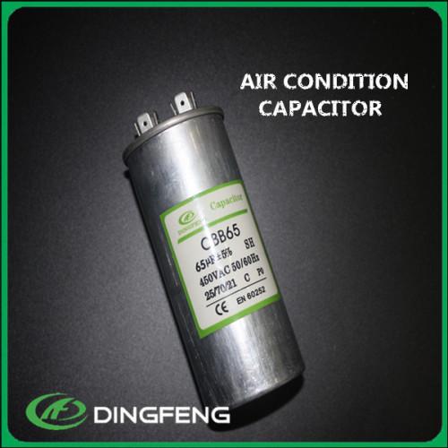 Llenar con aceite 450 V 4 + 4 + 4 Pines condensador de arranque aire acondicionado