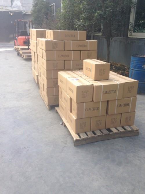 Ac motor en marcha carcasa de plástico pp capacidad para el motor en60252