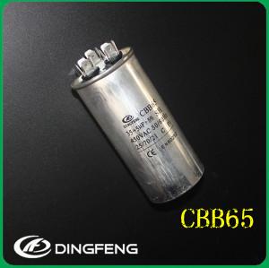 370 v micro condensador del motor de ca 4 + 2 pines condensador electrolítico de aluminio
