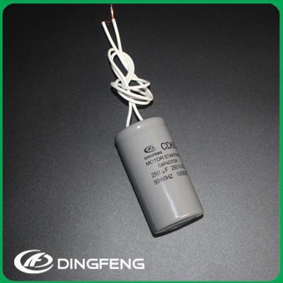 CD60 condensador electrolítico 250 v 330 uf condensador de arranque del motor