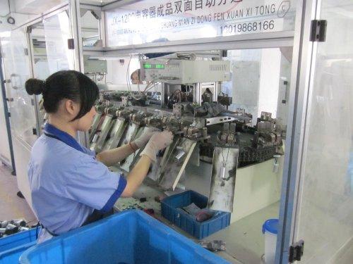 Polyester film capacitor cbb60 condensador de 4 pines terminal