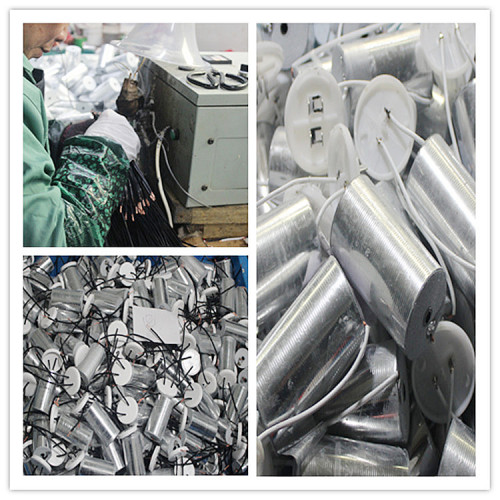 8 uf condensador de iluminación tienen plástico iluminación de aluminio condensador