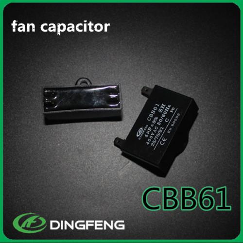 Condensador para el ventilador de techo CBB61 4 uf ac motor run capacitor