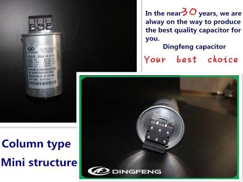 Control por un condensador de energía 400 v condensadores de potencia