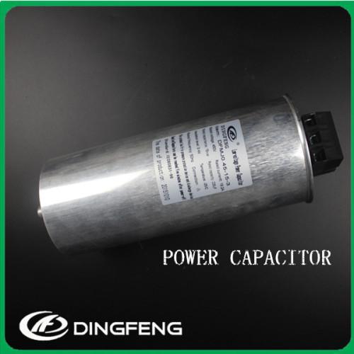 Tres fase condensadores de potencia 50 kvar banco de potencia