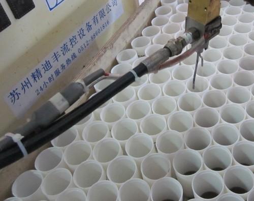 Condensador 6 uf 400 v condensador concha blanca con cable