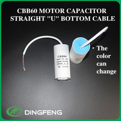 Cbb60 2 cables negros bomba de agua y cable cbb60 50 uf